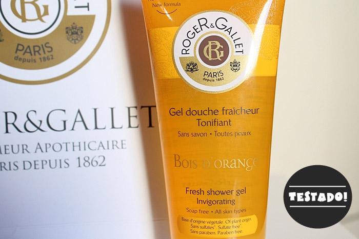 Resenha: Gel para Banho Bois d'Orange - Roger & Gallet