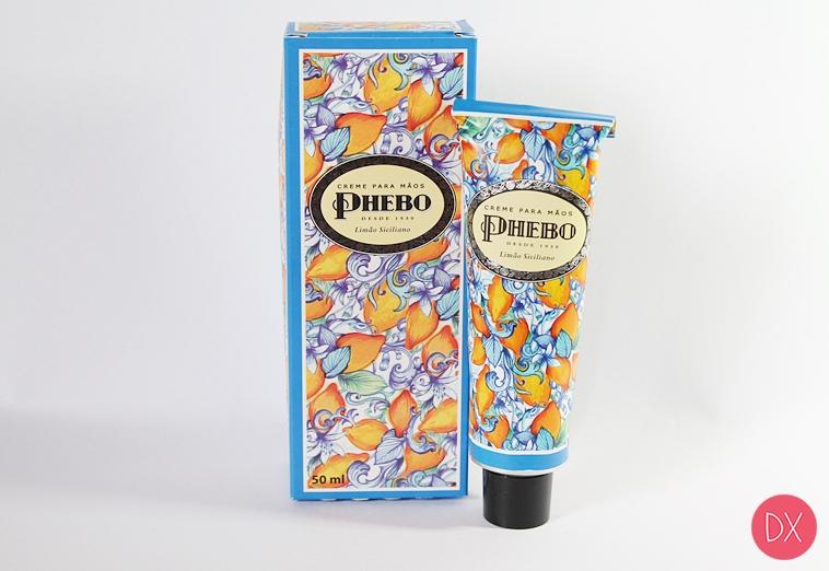 Resenha: Creme para Mãos Limão Siciliano - Phebo