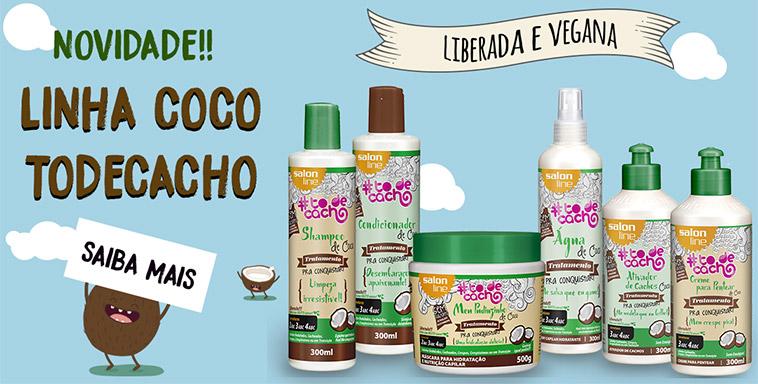 Salon Line lança sua primeira linha de produtos de cabelo veganos - Para Conquistar!