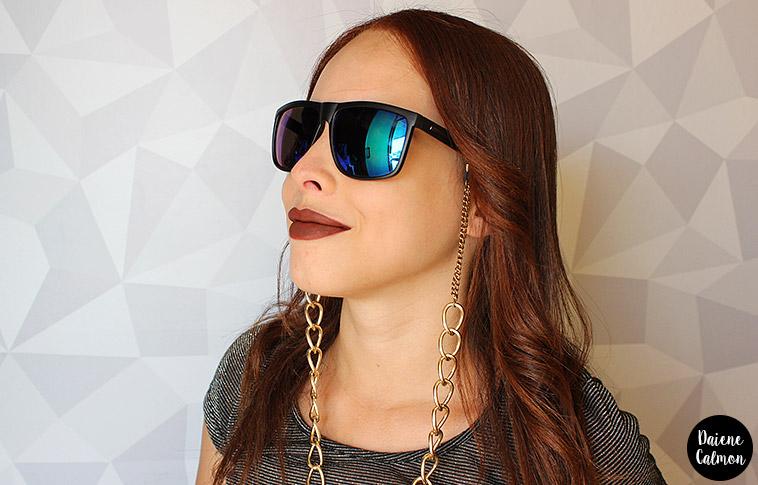 DIY Cordinha de Oculos - Como fazer Cordinha para Oculos