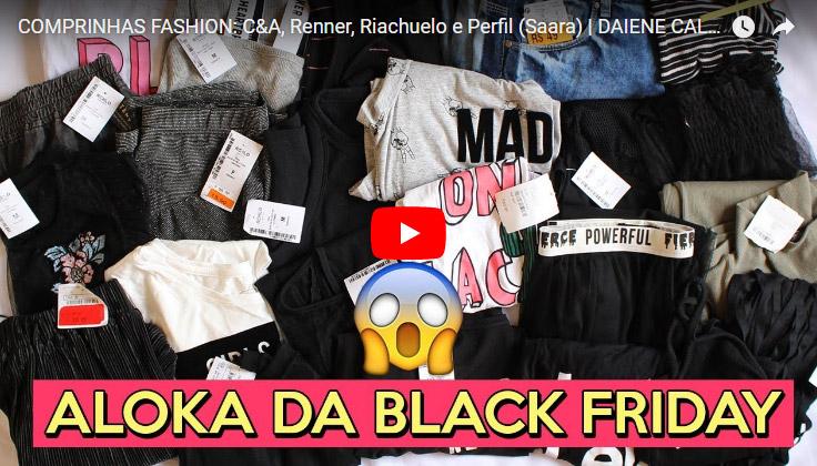 Comprinhas Fashion: C&A, Renner, Riachuelo e Perfil (Saara)