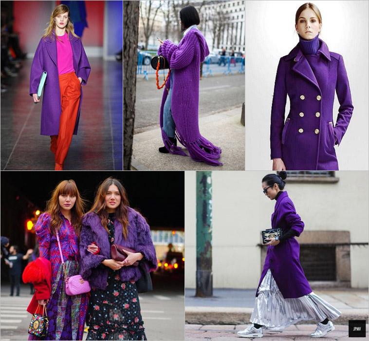 Ultra Violet: Como usar a cor de 2018 eleita pela Pantone (Casacos)