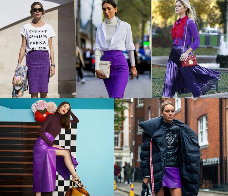 Ultra Violet: Como usar a cor de 2018 eleita pela Pantone (Saias)