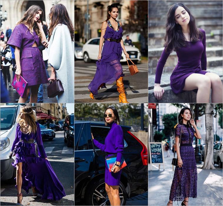 Ultra Violet: Como usar a cor de 2018 eleita pela Pantone (Vestidos)