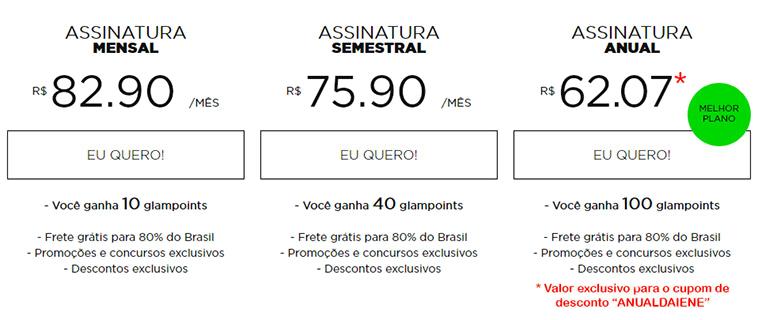 Cupom de Desconto Glambox Abril 2018 | Até R$ 70 de desconto!