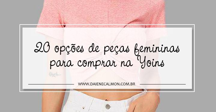 20 opções de peças femininas para comprar na Yoins