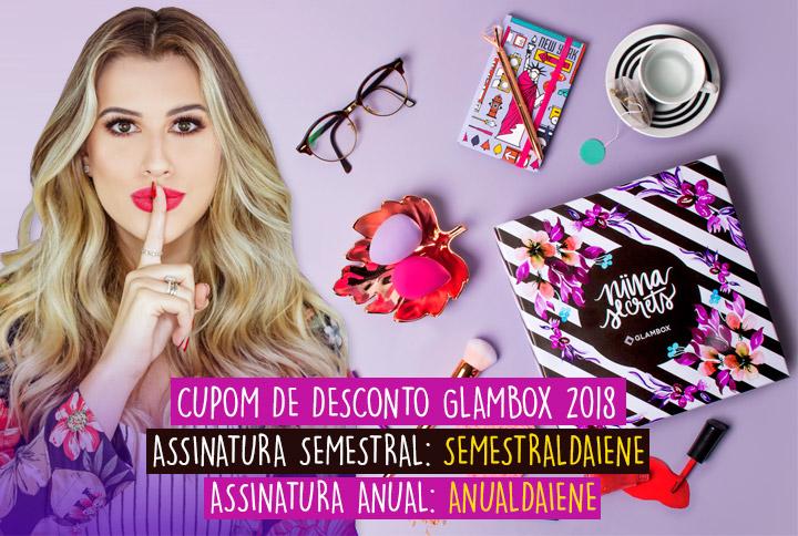 Glambox Julho 2018 - Glambox Segredos de Niina - Niina Secrets