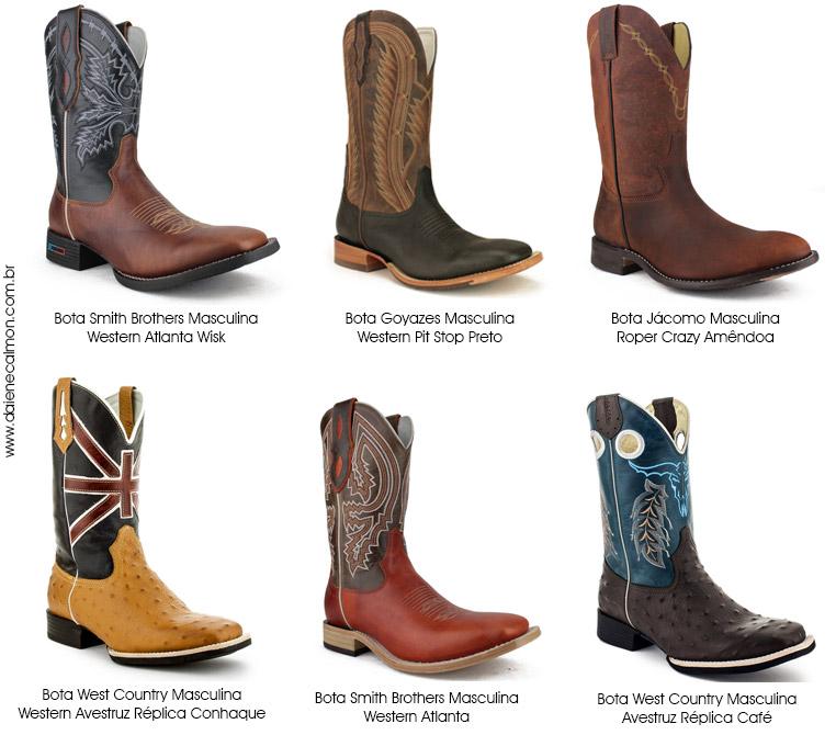 Onde comprar botas country masculinas? - Brasil Cowboy