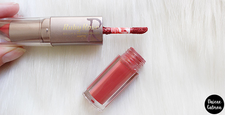 Resenha: Batom Duo Matte - Ruby Rose (169)