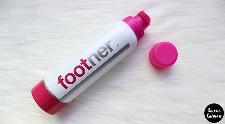 Resenha: Espuma hidratante para os Pés - Footner