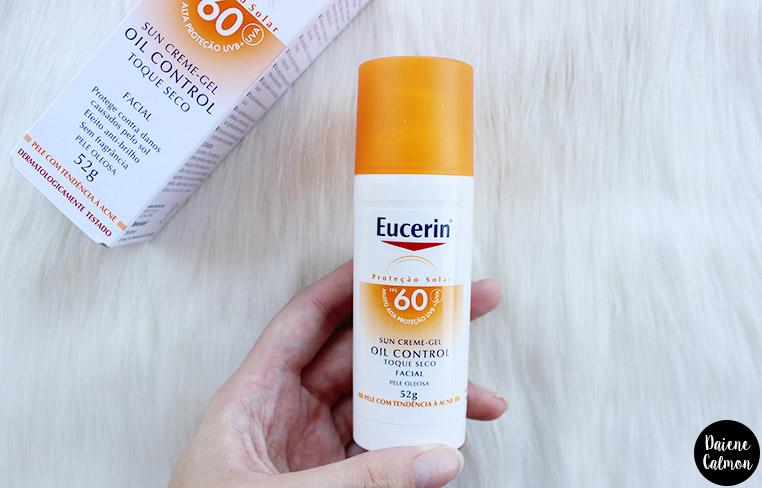 Resenha: Protetor Solar Sun Gel Creme Oil Control FPS 60 - Eucerin