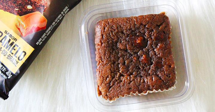 Provei: Brownie Caramelo e Castanha do Brasil - Belive Be Free
