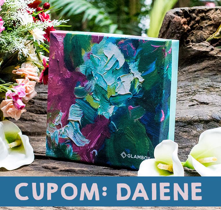 Cupom de desconto Glambox Maio 2019 | Glambox Jardim Secreto