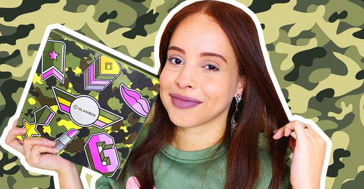 O que veio na Glambox Julho 2019 - Glambox Exército da Beleza?