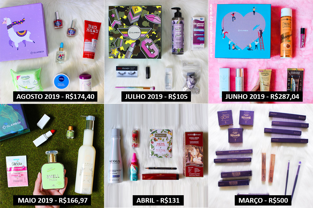 Glambox vale a pena assinar? - 6 meses de Glambox