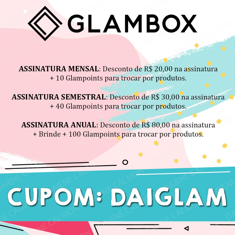 Cupom de desconto Glambox 2020