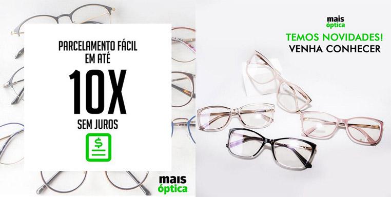 Ótica Barão de Mauá: óculos rápido e com preço acessível é na Mais Óptica
