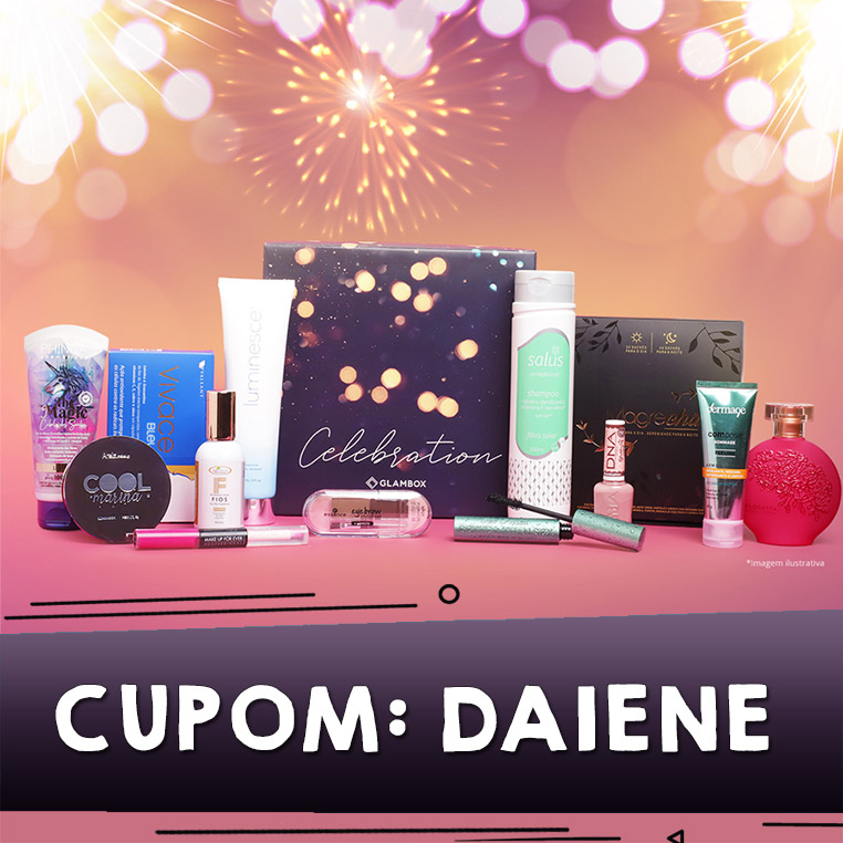 Cupom de desconto Glambox Dezembro 2019 | Glambox Celebration