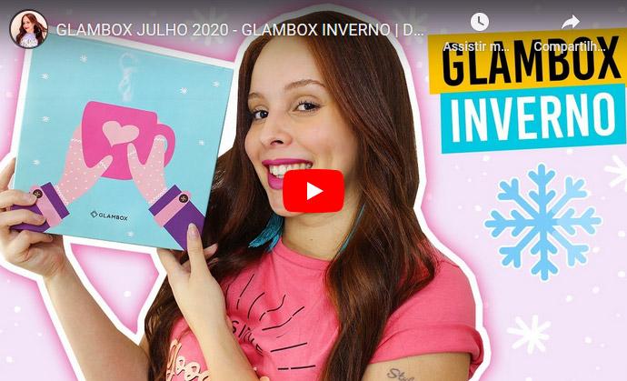 O que veio na Glambox Julho 2020 - Glambox Inverno?