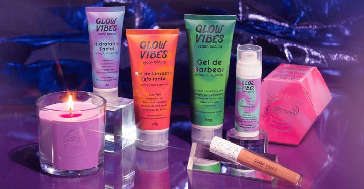 Glow Vibes: Nova marca de skincare vegana, moderna e colorida!