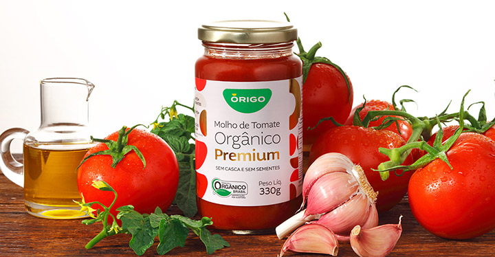 ÓRIGO apresenta linha de tomate orgânico na Bio Brazil Fair 2020