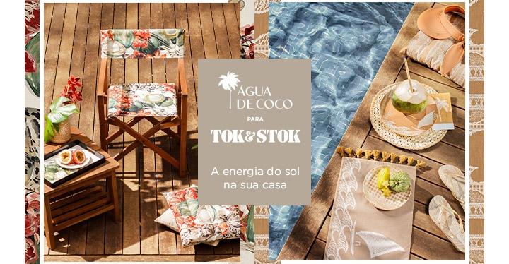 Tok&Stok e Água de Coco anunciam linha exclusiva de móveis e acessórios