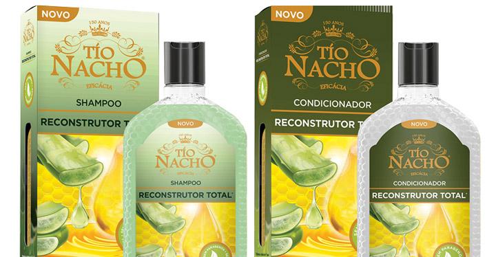 Tio Nacho lança linha Reconstrutor Total com Aloe Vera puro 100% orgânico
