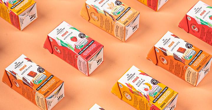 A Tal da Castanha apresenta mini, nova linha de bebidas vegetais para crianças