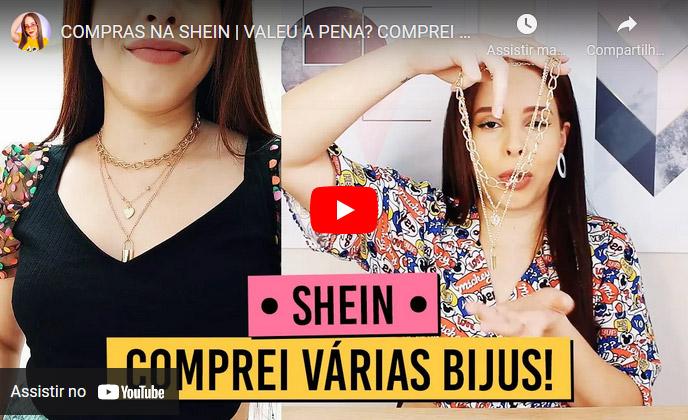 Compras na Shein: Roupas, acessórios e bijuterias!