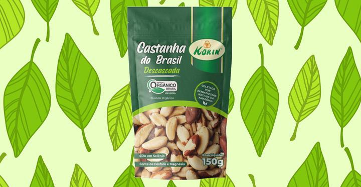 Korin lança Castanha do Brasil orgânica