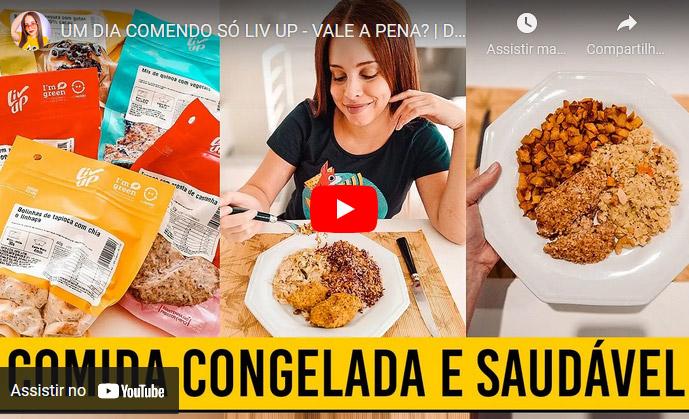 Liv Up Cupom de Desconto Primeira Compra - Avaliação Review Youtube