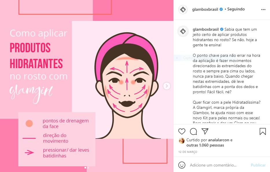 Glambox - Clube de assinatura de produtos de beleza