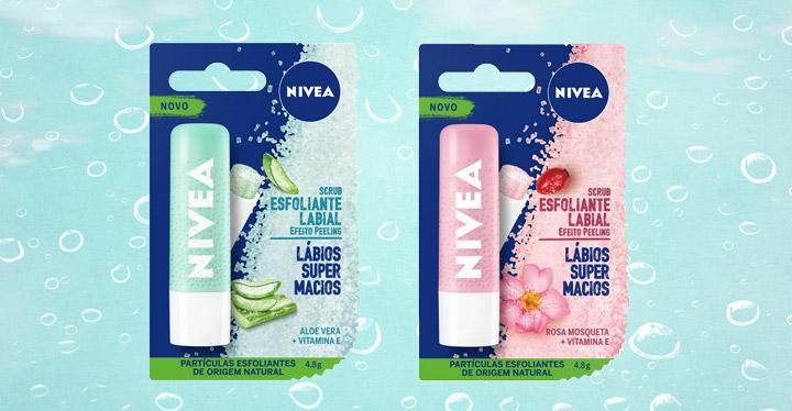 Nivea Scrub - Esfoliante Labial Hidratante